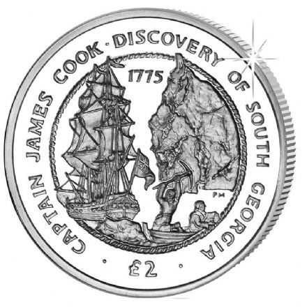 2015 Captain James Cook £2 South Georgia